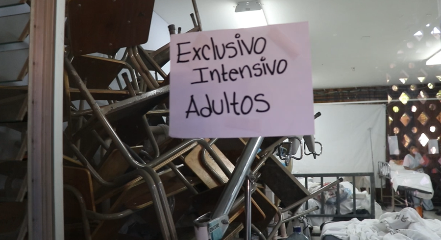 Falta de presupuesto agrava la crisis del centro asistencial. (Foto Prensa Libre: Hugo Oliva)