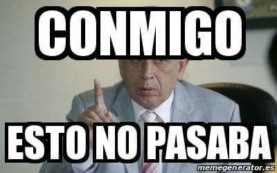 El expresidente de la Federación Nacional de Futbol, Bryan Jiménez es uno de los protagonistas de los memes. (Foto Prensa Libre: Twitter)
