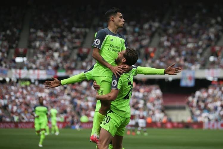 Fuente goleado por el Liverpool — Inglaterra