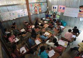 Con el préstamo que otorgue Alemania se pretende mejorar la educación en el área rural.( Foto Prensa Libre: Hemeroteca PL)
