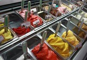Los helados son ideales para consumirlos en verano (Foto Prensa Libre: Álvaro Interiano)