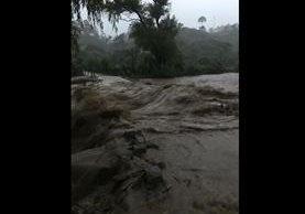 Río Paxejá, en San Andrés Sajcabajá, Quiché. (Foto Prensa Libre: Héctor Cordero).