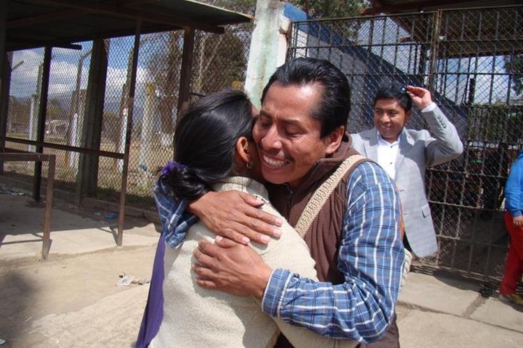 Fausto Sánchez, líder comunitarios de San Pablo, San Marcos, recuperó su libertad, luego de haber estado preso durante más de dos años. (Foto: HemerotecaPL)