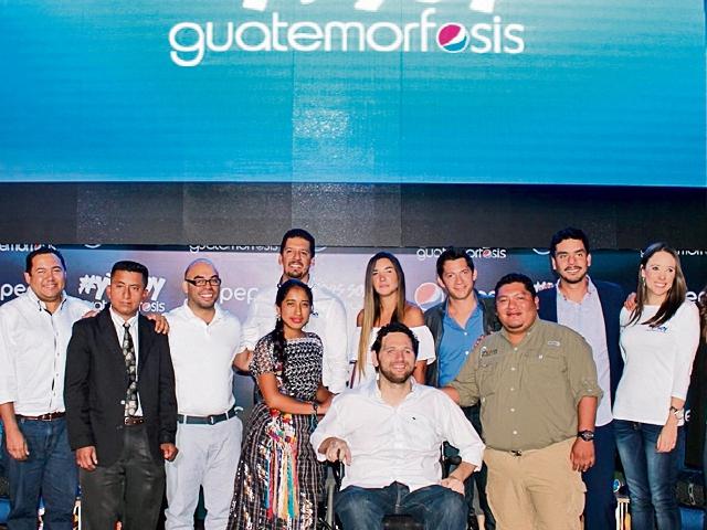 Catorce artistas son parte de la campaña que busca inspirar al país a través de sus historias de éxito.