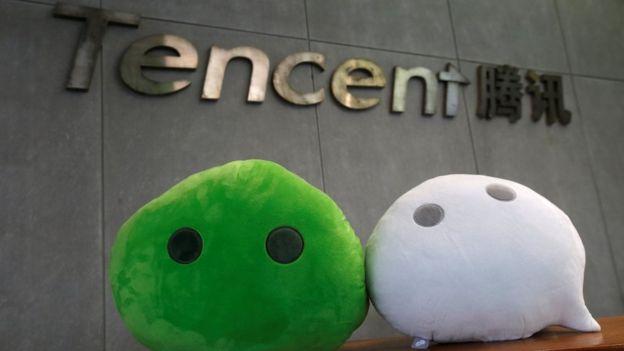 Tencent es una de las mayores compañías tecnológicas de China y está detrás de la exitosa red social WeChat. REUTERS