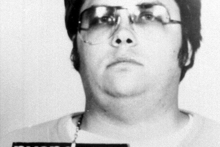 Foto policial de Mark David Chapman, asesino de John Lennon. (Foto: AFP)