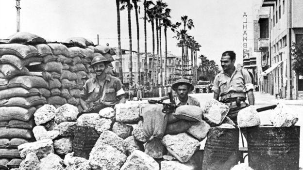 El plan de la ONU para la partición de Palestina no llegó a aplicarse debido al inicio de la guerra árabe-israelí de 1948. GETTY IMAGES