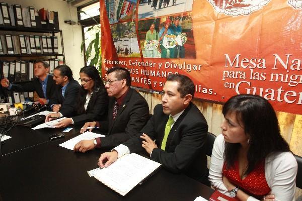 Líderes  de organizaciones sociales manifiestan su apoyo al Gobierno para solicitar el TPS.
