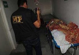 Leydi Dinora Pérez, de 15 años, mató a su hija y luego se suicidó, en Jutiapa. (Foto Prensa Libre: Óscar González)