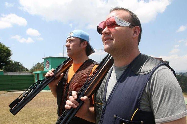 Los hermanos Hebert y Enrique Brol, ya están clasificados a los Juegos Olímpicos de Río 2016. (Foto Prensa Libre).