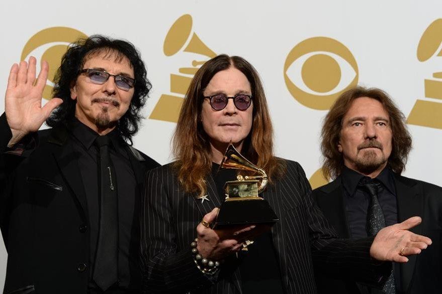 La banda de heavy metal se despedirá de los escenarios. (Foto Prensa Libre: AFP)