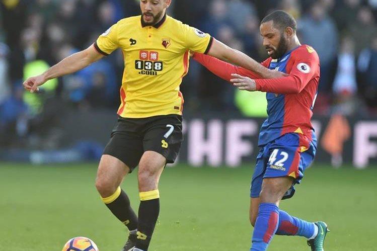 El Crystal Palace y Watford no pasaron del empate. (Foto Prensa Libre: AFP)