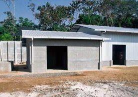 Parte del  equipo que servirá para producir leche de soya, en el Centro Nutricional Rotario de Sumpango, Sacatepéquez.