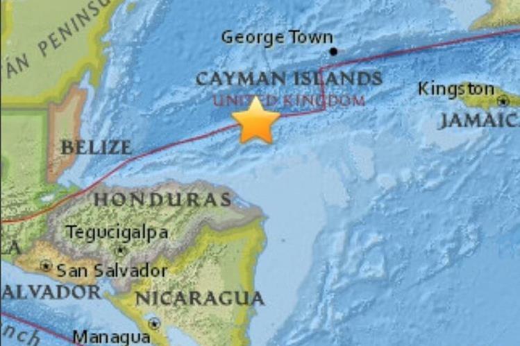 Reportan sismo en Honduras