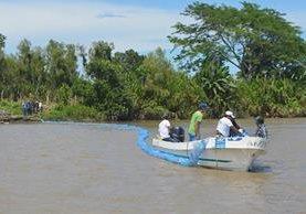 La mayoría de la suciedad se genera en la capital que contamina el río Las Vacas que es afluente del Motagua. (Foto Prensa Libre: Hemeroteca PL)