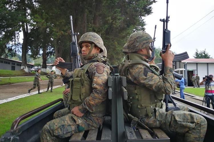 Varias zonas militares próximas a San Marcos han enviado a sus elementos.
