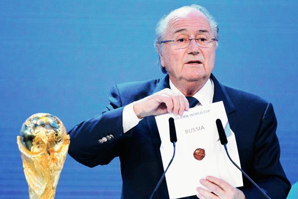 Joseph Blatter confirmó que no estará presente en la reunión del Comité Olímpico Internacional. (Foto Prensa Libre: Hemeroteca PL)