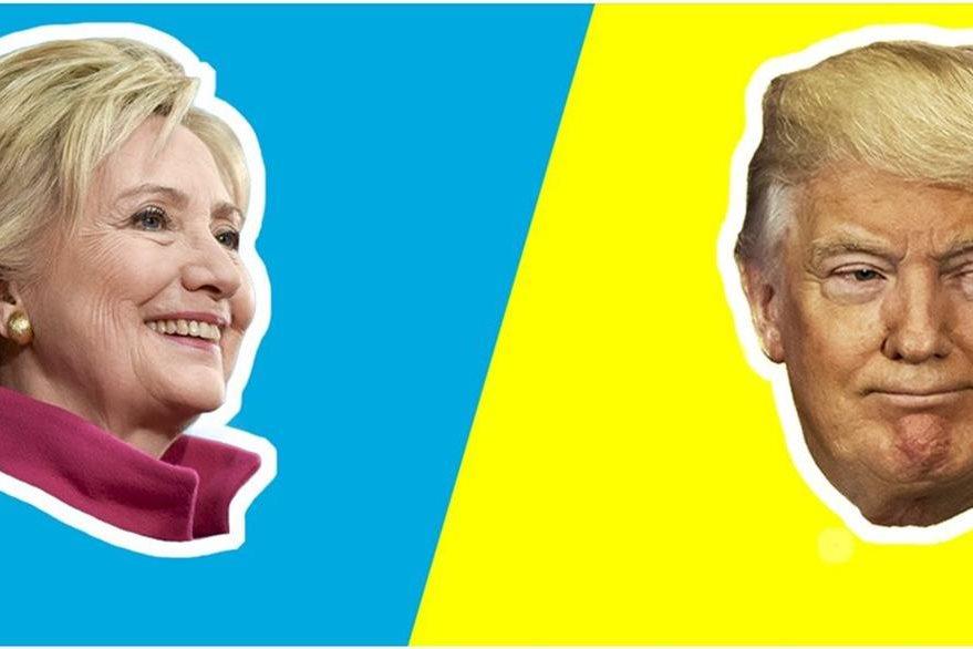 Clinton y Trump han puesto toda su maquinaria confrontativa para seducir a los electores. (Foto Prensa Libre: Campaña de Clinton)