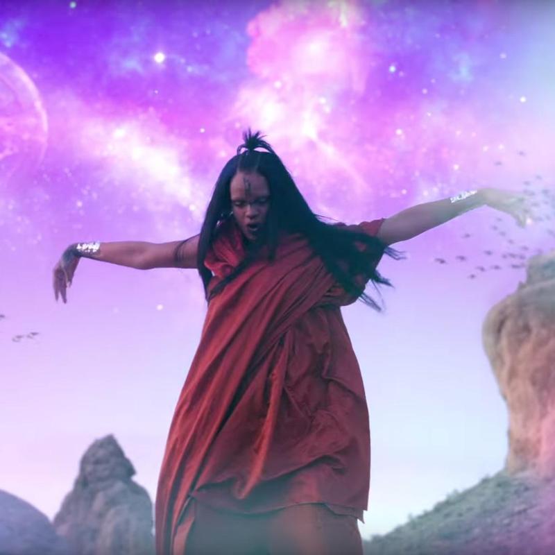 El videoclip fue grabado en formato IMAX. (Foto Prensa Libre: YouTube)
