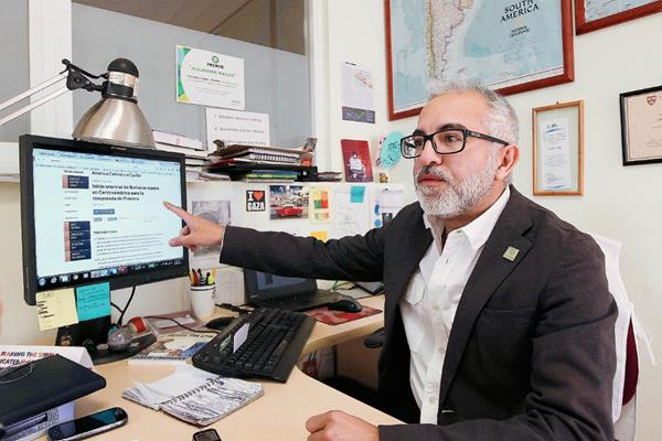 Carlos Mansilla gerente de Oxfam para América Latina aseguró que sequía se recrudecerá en el 2015.(Foto Prensa Libre: EFE).