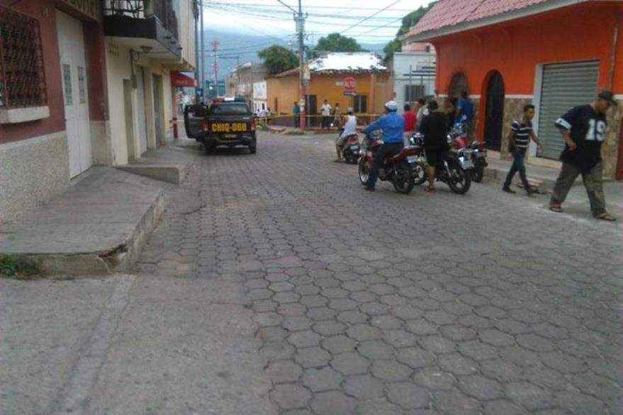 Lugar donde ocurrió el crimen en junio último, e Chiquimula. (Foto Prensa Libre: Hemeroteca PL).