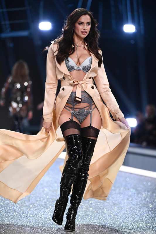 Irina es una de las modelos más cotizadas de la firma de lencería. (Foto Prensa Libre: AFP)