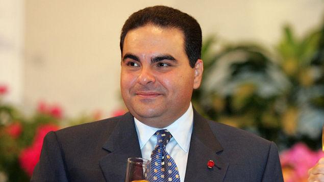 El expresidente salvadoreño Elías Antonio Saca. (Foto Prensa Libre: AFP)