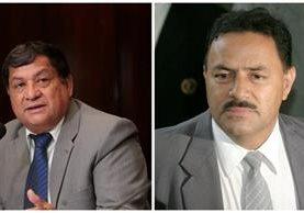 CC denegó amparo a los diputados Baudilio Hichos y Mario Rivera. (Foto Prensa Libre: Hemeroteca PL)