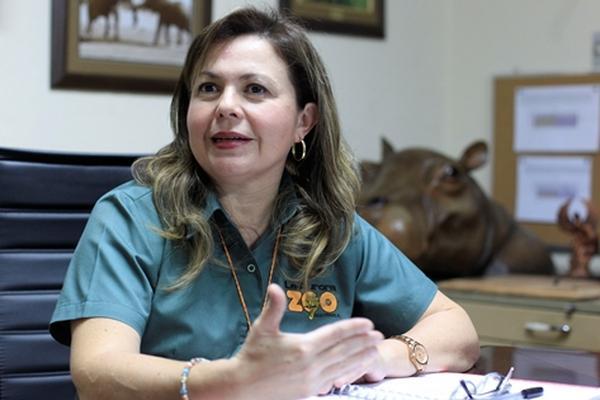 <p>Claudia Salazar (Foto Prensa Libre: Edwin Bercián)</p>