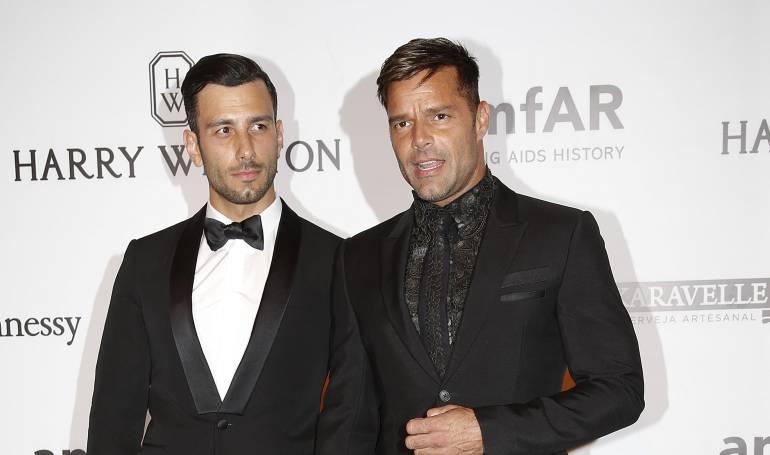 Jwan Yosef y Ricky Martin se comprometieron a finales del 2016. (Foto Prensa Libre: Hemeroteca PL)