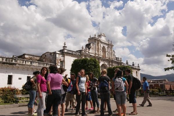 Antigua es el lugar más visitado por los turistas (Hemeroteca PL)