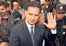 <p>Alfonso Portillo prevé dar una conferencia de prensa. <br></p>