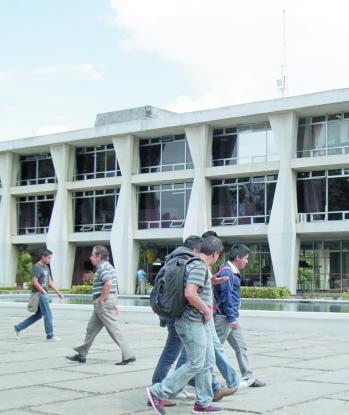 Campus central de la Universidad de San Carlos. (Foto: Hemeroteca PL)