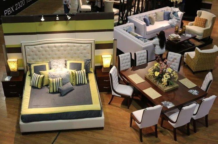 Algunas de las tendencias en muebles que encontrará en Expomueble 2017. (Foto Prensa Libre: Cortesía Agexport)