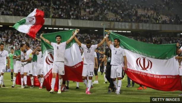 Irán es una de las selecciones que ya están clasificadas a la cita mundialista del próximo año. (Foto Prensa Libre: BBC Mundo)