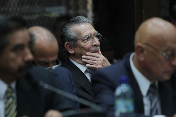 <p>El exdictador José Efraín Ríos Montt fue enviado a juicio el lunes pasado, por genocidio y deberes contra la humanidad. (Foto Prensa Libre: Esbin García)<br></p>