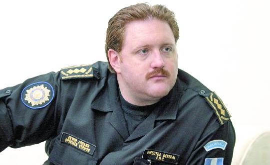 Un tribunal de Ginebra condenó a cadena perpetua al exjefe de la Policía Nacional Civil de Guatemala, Erwin Sperisen. (Foto Prensa Libre: Hemeroteca PL)