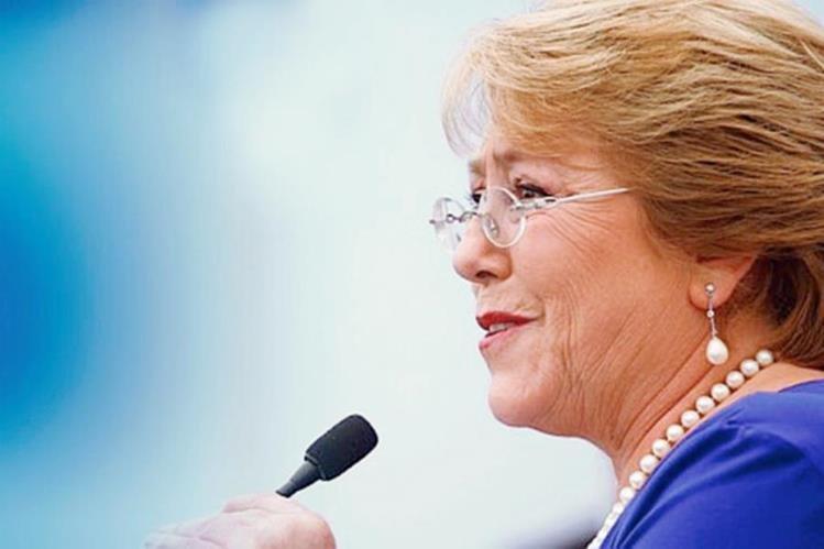 Bachelet anunció las tareas que serán prioridades de su gobierno (Foto Prensa Libre: Hemeroteca PL)