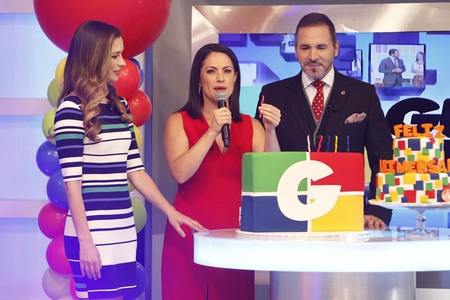 Tuti Furlán (centro) junto a Anitza Kozina y Ricardo García Santander. (Foto Prensa Libre: Paulo Raquec)
