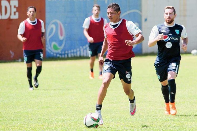 Mejía tiene toda la confianza del entrenador argentino Iván Franco Sopegno. (Foto Prensa Libre: Norvin Méndoza)