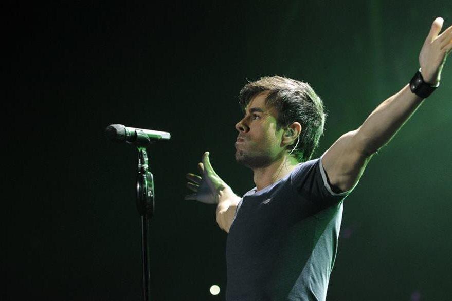 Enrique Iglesias es el segundo más nominado en los Latin American Music Awards. (Foto Prensa Libre: Hemeroteca PL)