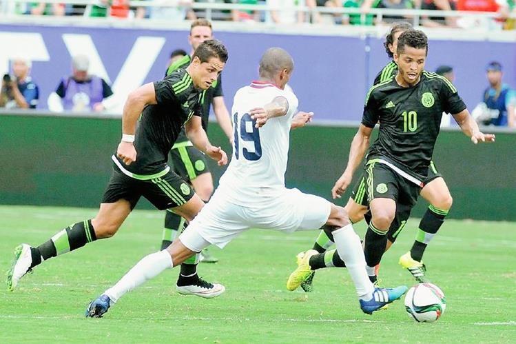 México viene de empatar 2-2 ante Costa Rica. (Foto Prensa Libre: EFE).