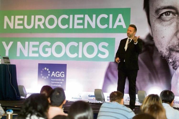 """Thomas Ramsoy, impartió el viernes pasado, la conferencia: """"Neurociencia y Negocios"""""""