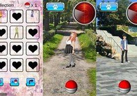 Aplicación similar a Pokemon Go permite atrapar parejas virtuales. (Foto Prensa Libre: Google Play)