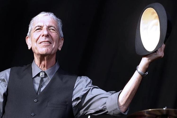 Leonard Cohen falleció a los 82 años. (Foto Prensa Libre: AFP)