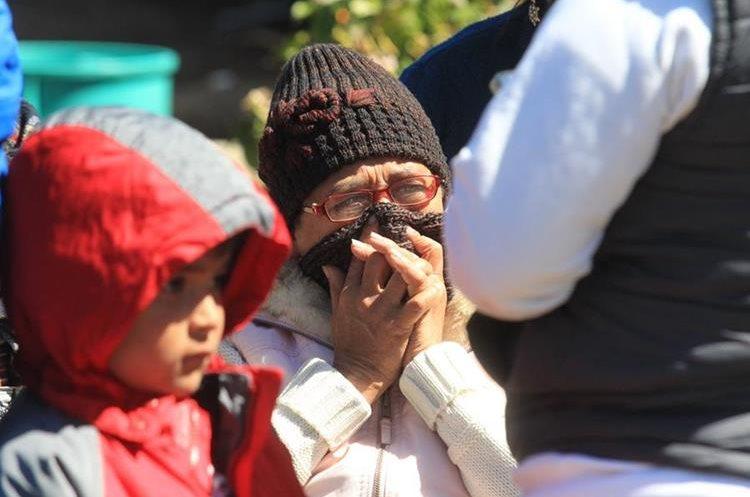 Los niños y menores son los más vulnerables a desarrollar enfermedades respiratorias. (Foto Prensa Libre: Hemeroteca PL)