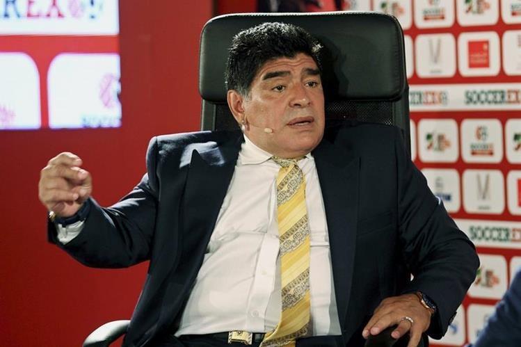 Maradona criticó a la selección argentina sub 23 al ser eliminados de Río 2016. (Foto Prensa Libre: Hemeroteca PL)