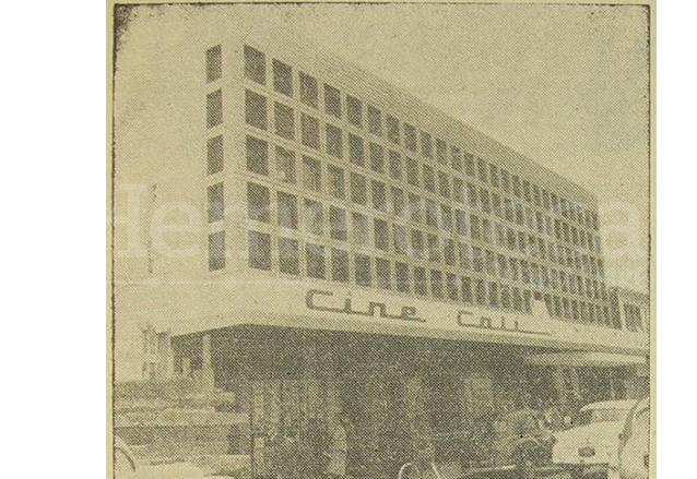 El cine Cali fue inaugurado en 1958. (Foto: Hemeroteca PL)