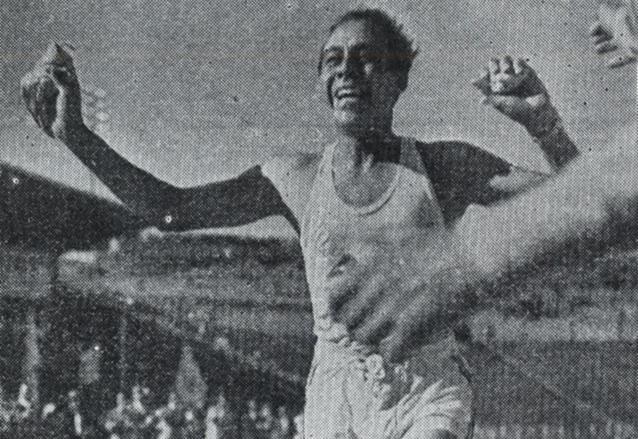 Luis Humberto Velásquez en su participación en Helsinki 1952. (Foto: Hemeroteca PL)