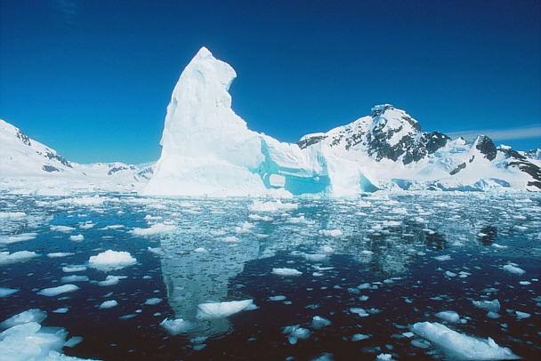 Imagen del casquete polar ártico, la frontera más lejana de Rusia. (Foto: internet)